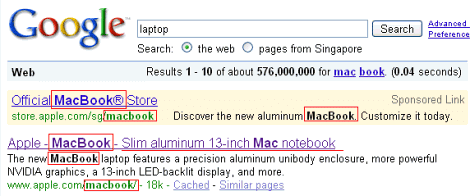 google-search-macbook