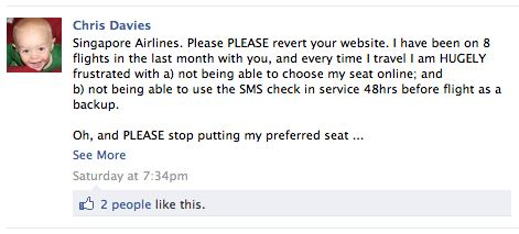 What's Singapore Airlines doing in Social Media?