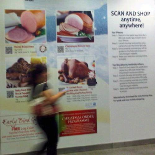 SMRT QR Codes Shopping